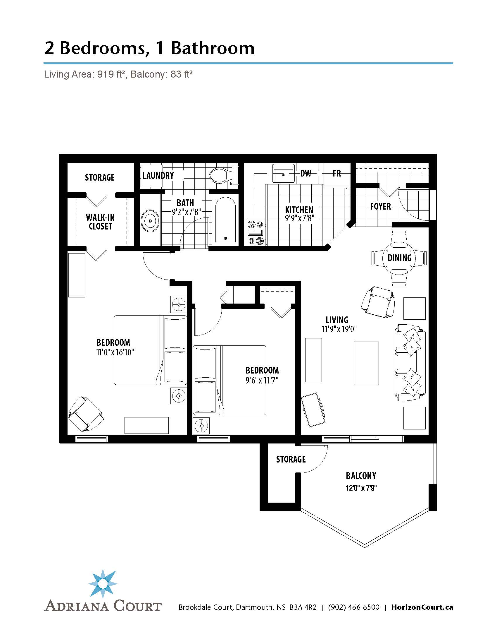 100 Dartmouth Floor Plans Unit Penthouse D Hatter
